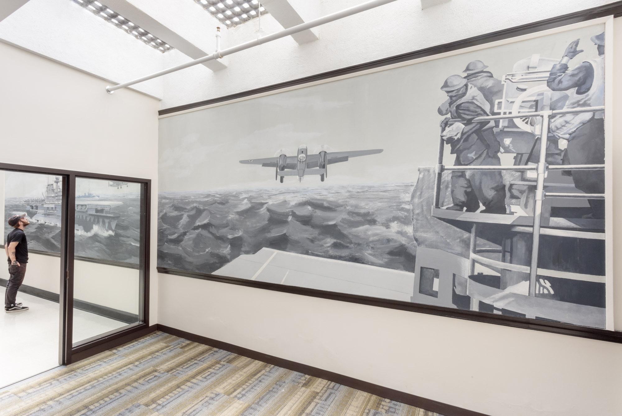 Image: Doolittle Raid Mural