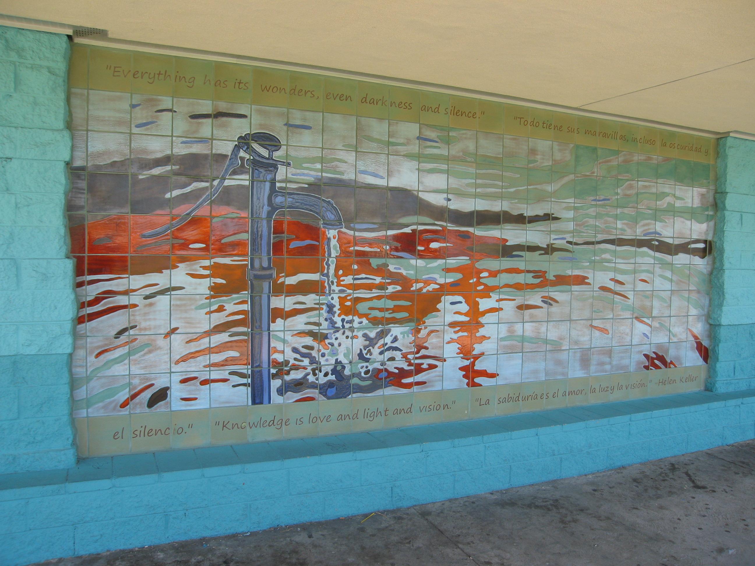 Image: Helen Keller Park Ceramic Mural