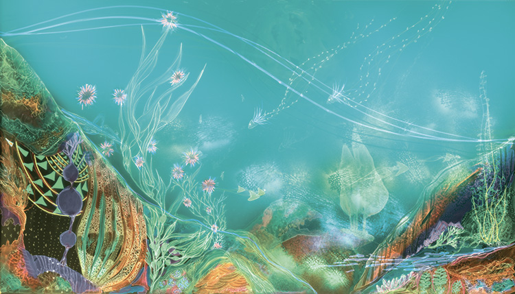 Image: Oceanic Cosmic Whisper