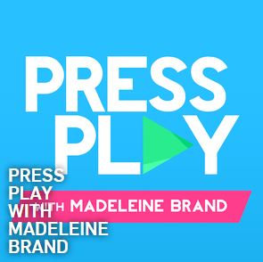 Press Play with Madeleine Brand logo
