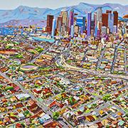 LA Skyline by Susan Logoreci