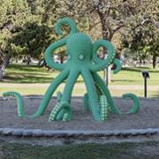 """""""Octopus"""" by Benjamin Dominguez."""