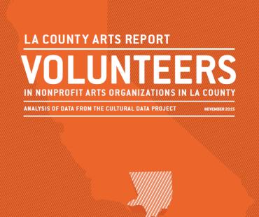 Volunteers in Arts Nonprofits in LA County