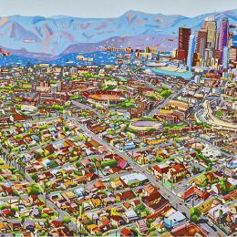 """Los Angeles Skyline"" by Susan Logoreci"
