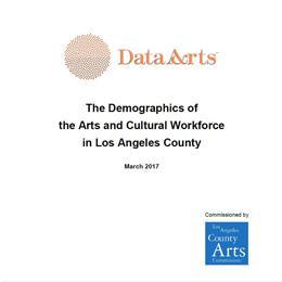 Arts Workforce Demographics Report