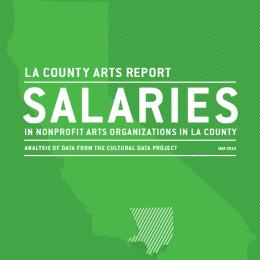 Salaries in Arts Nonprofits in LA County