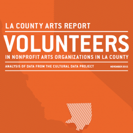 Volunteers in Arts Nonprofits in LA County