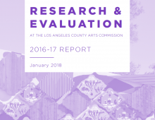 Research and Evaluation report cover image