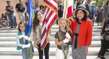 Fort Moore Pioneer Memorial Re-Dedication Ceremony
